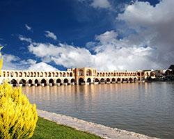 اصفهان جان تازه ای گرفت، بازگشایی آب زاینده رود